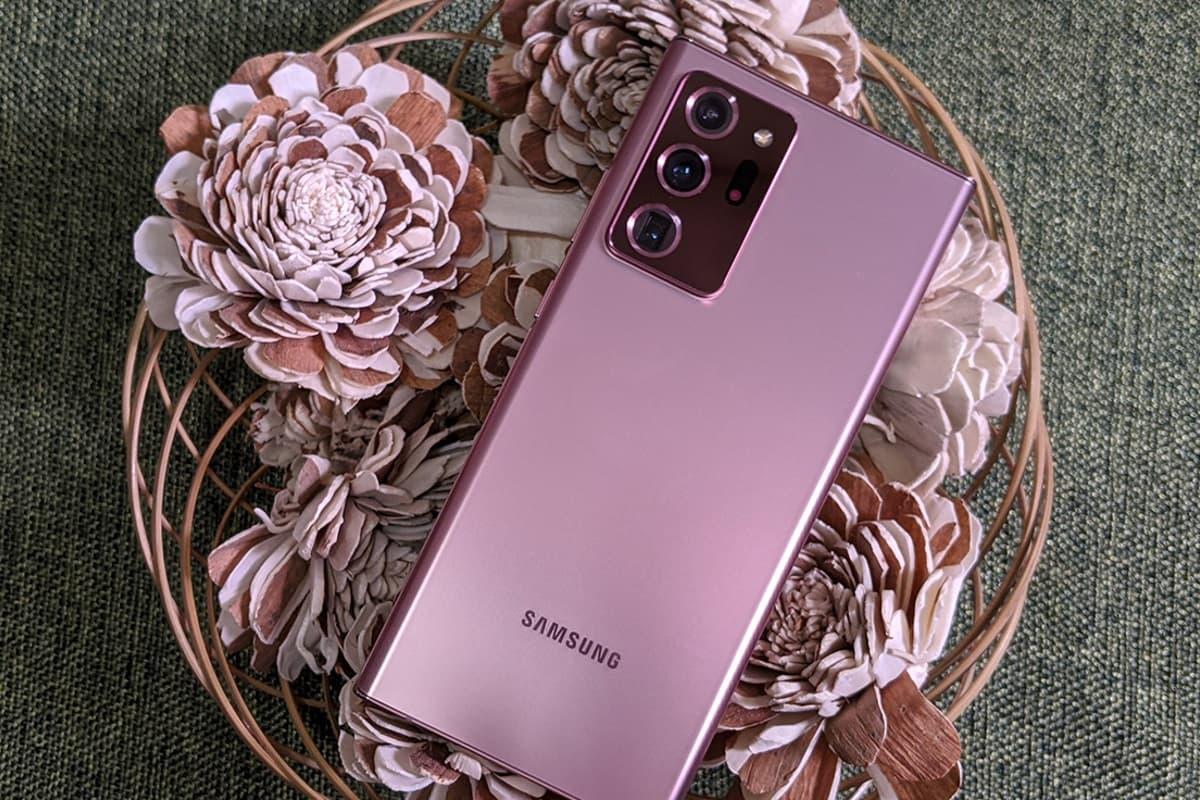Traseira Galaxy Note 20.