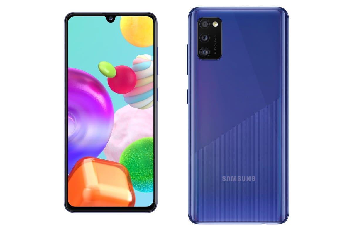 galaxy a41 azul