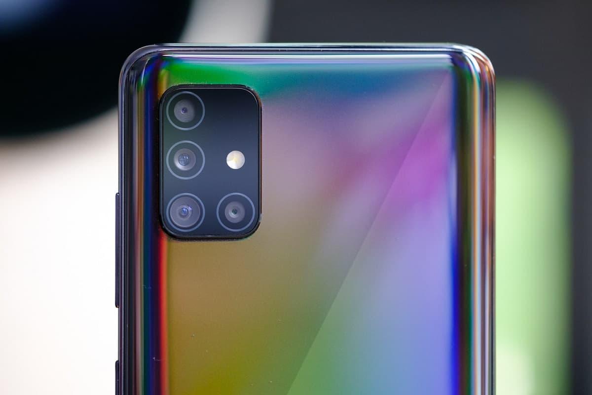 Traseira Galaxy A51 5G