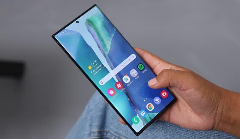 Atualização Galaxy Note 20 Ultra
