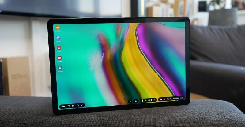 Galaxy Tab S5e novo update