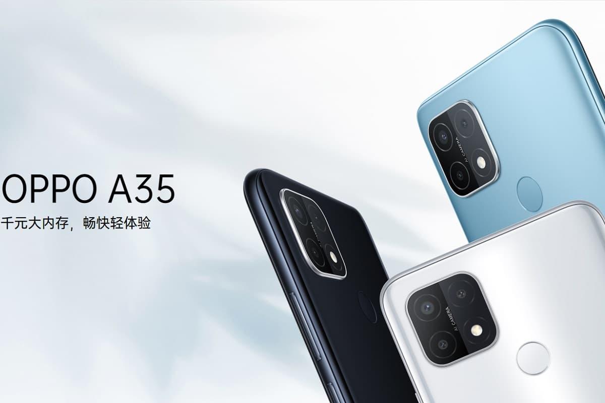 Oppo A35 lançamento