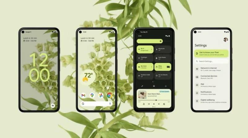 design customizado android 12