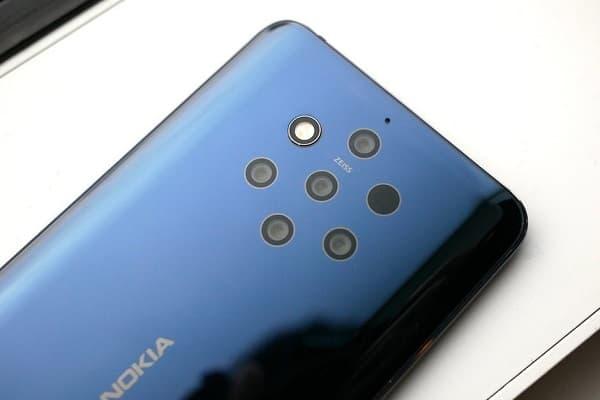 Traseira Nokia 9 Pureview