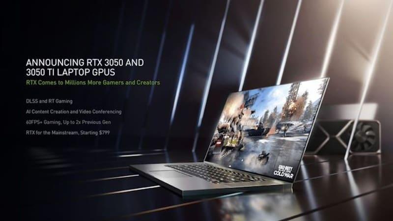 rtx 3050 laptops