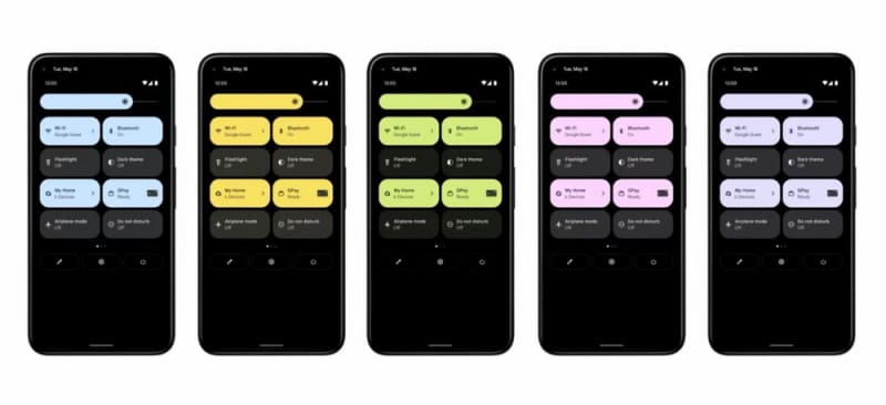 widgets android 12