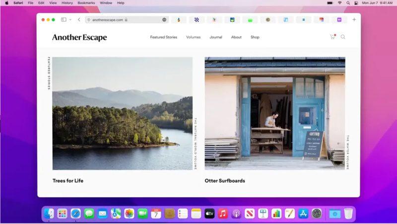apple safari 15 navegador