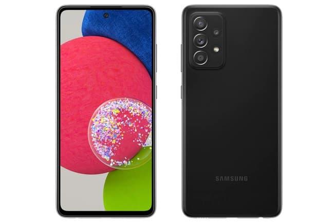 Samsung Galaxy A52s 5G preto