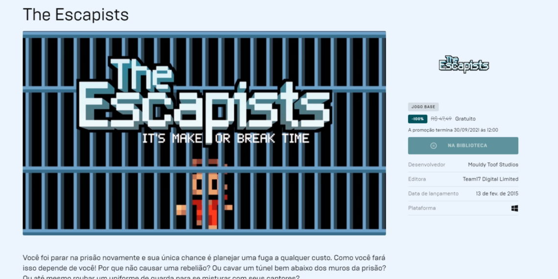the escalpists epic games