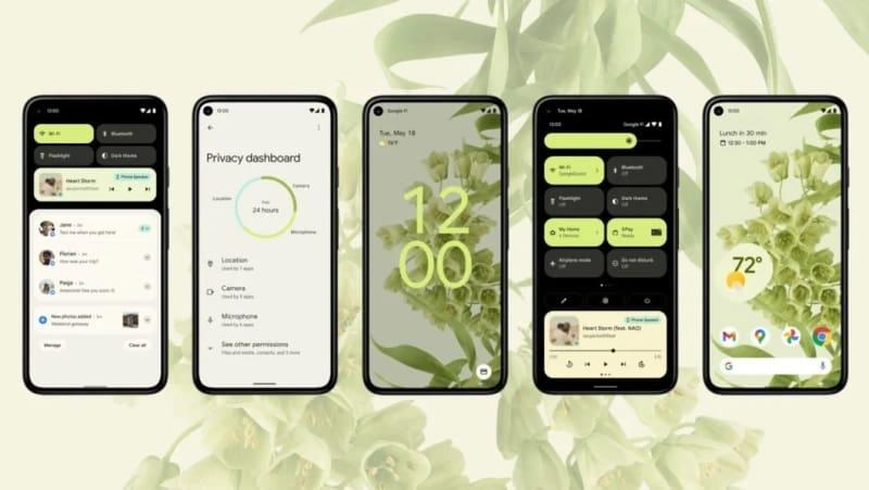 android 12 privacidade
