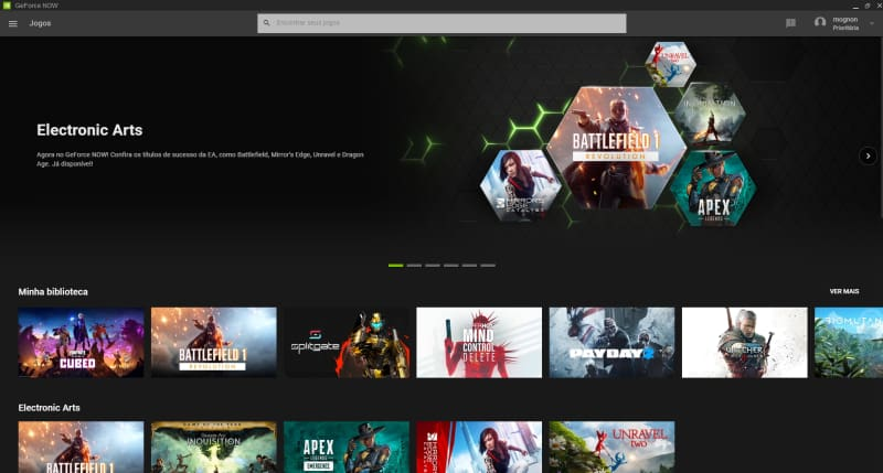 geforce now compatibilidade